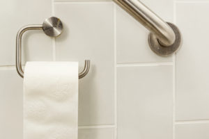 Toilet Paper Grab Bar