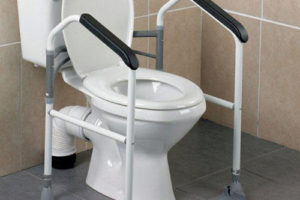 Toilet Safety Rails for the Handicapped