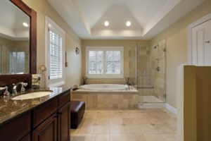 tiled-bathroom-renovation-with-walk-in-shower