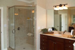 tiled-corner-shower-in-san-antonio-texas